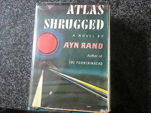 First Edition of Ayn Rand's Atlas Shrugged