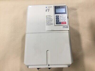 Yaskawa Cimr-f7u4018 F7 Varispeed Ac Servo Drive 480v 39.0a 6061dk