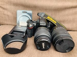 Nikon D 5100 with lenses (macro included)