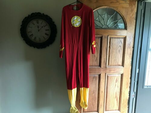 Vintage FLASH DC Comics Halloween Costume Rubies