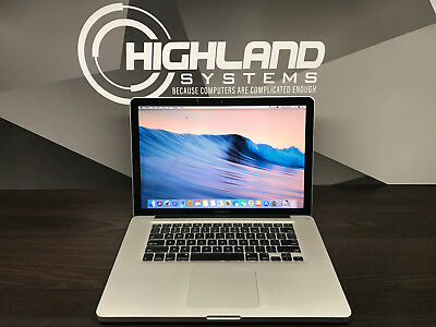 APPLE MACBOOK PRO 15 PRE-RETINA INTEL 2.4GHZ / 4GB RAM / 1TB SSD HYB / WARRANTY