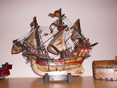 "Schiffsmodell Holz Segelschiff  ""Santa Maria"" Christoph Columbus"
