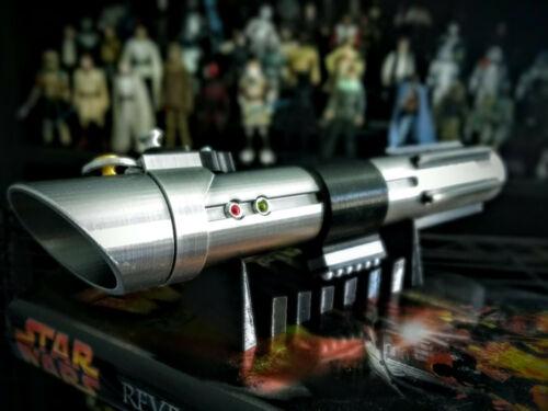 Star Wars Inspired Anakin Skywalker Ep2 Lightsaber Prop Replica 3D printed Kit
