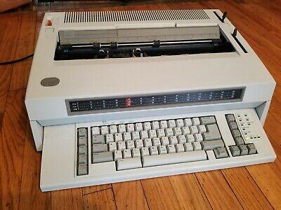 Ibm Wheelwriter 10 Series 2 Typewriter 6783.works.
