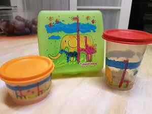 Tupperware - cute kids set of three Altona Hobsons Bay Area Preview
