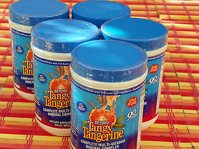 youngevity beyond tangy tangerine original 5 canisters by dr wallach