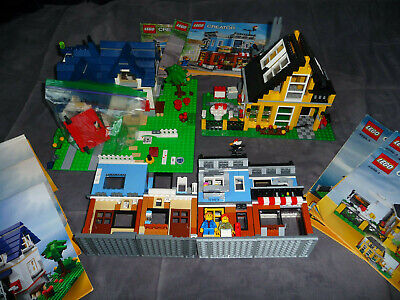 Lego Lot of Building and houses LEGO Creator 31050 4996 5891 LEGOS 3 in 1 Sets