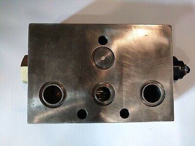1 Qty New Hydraulic Manifold Block Cn