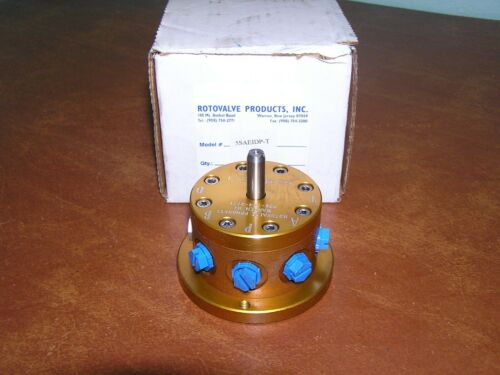 MICROTORK 5saeidp-t Hydraulic Servo Rotovalve 5 sae idp T New NOS