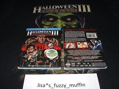 HalloweeN 3 III Blu-ray BRAND NEW Season Of The Witch + slipcover Scream Factory](Halloween Movies 3 Witches)