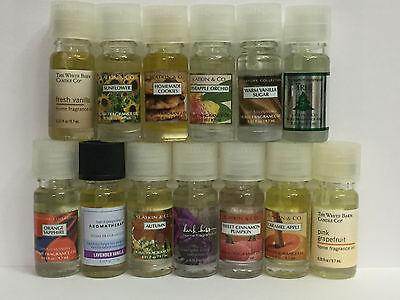 BATH & BODY WORKS Home Fragrance Oil White Barn and Slatkin Shop You Choose 1 ()