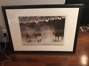 Football classic picture framed