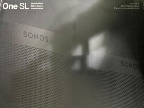 Sonos One SL Shadow Edition, 2-Pack