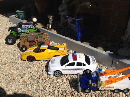 Large toy car bundle $30 the lot