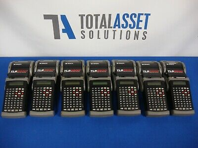 Lot Of 7 Brady Tls2200 Portable Handheld Thermal Label Makers Printers