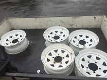 Set of 5 Toyota  landcruiser 100 series wheels West Kempsey Kempsey Area Preview