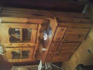 homemade hutch