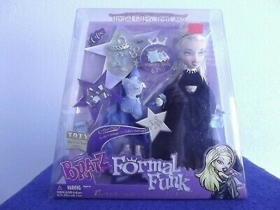 BRATZ FORMAL FUNK CLOE 2003 PROM LIMITED EDITION W/ORIGINAL SEALED PACKAGING