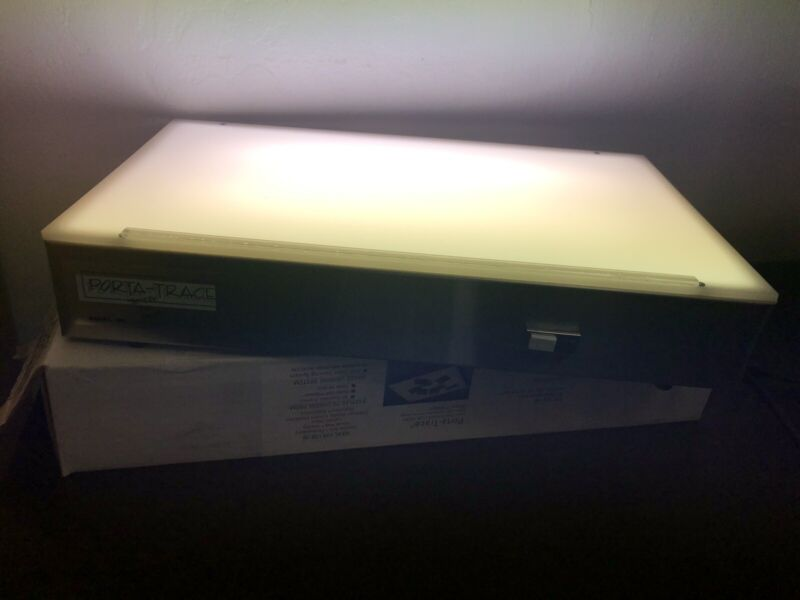 NEW GAGNE 1118 PORTA-TRACE LIGHTWEIGHT LIGHT BOX TABLE FOR TRACING