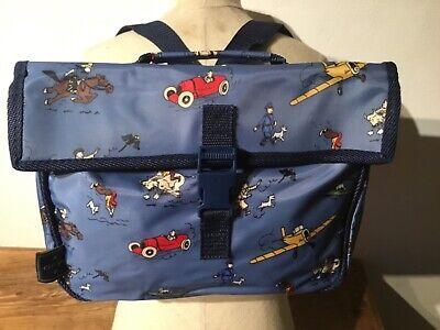 Tintin  kuifje Vintage original infant school bag HERGÉ New