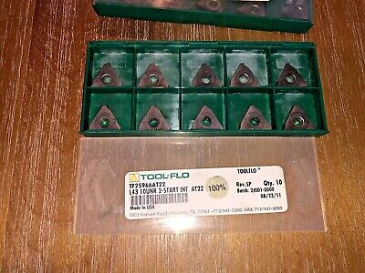 Tool Flo Carbide Inserts L43 10unr 2 Start Int At22 Qty 10