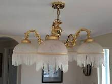 Tiffany style beautiful 5 arm ceiling light. Hallett Cove Marion Area Preview