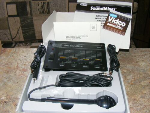 Sima Video Sound Mixer Model SSM