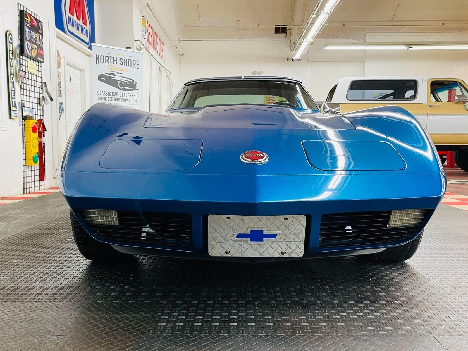 1973 Blue Chevrolet Corvette Coupe  | C3 Corvette Photo 7