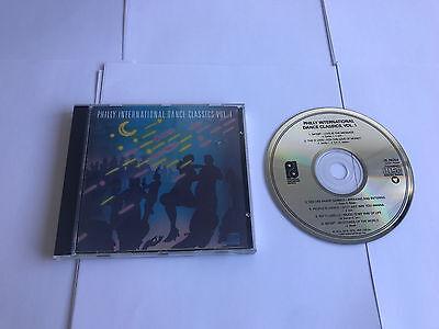 Philly International Dance Classics Vol  1   Zk 39254 Mint Original Pressing Cd