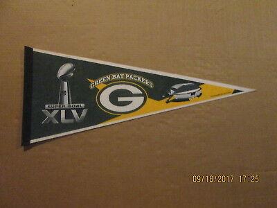 NFL Green Bay Packers Vintage Super Bowl XLV Photo Football Pennant