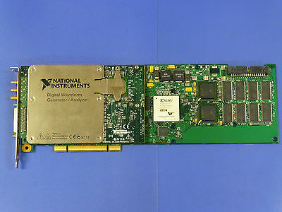 National Instruments Pci-6541 Ni Daq Card Digital Waveform Generator Analyzer