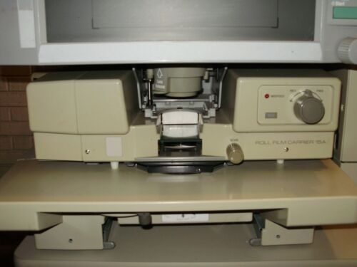KONICA/MINOLTA 15A MICROFILM CARRIER complete with INTERFACE BOARD (Very Nice)