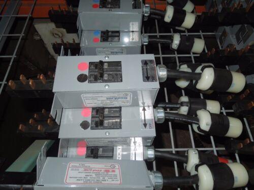 Starline Busway Tap Box Cbdc100-162-0052-l630c 30a 2p Ge (black/red) 250v Used