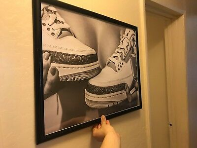 Chicks in Kicks  Jordan Poster limited Hype rare Retro OG Jordan 3s
