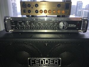 SWR 350x Bass Head and Cabinet Bass Amp
