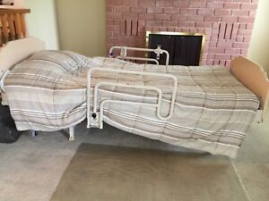 Adjustable Hospital type bed