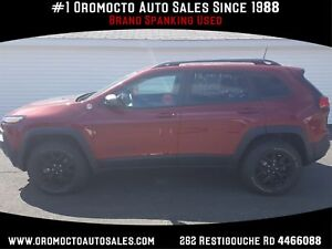 2017 Jeep Cherokee Trailhawk Trailhawk AWD, HEATED LEATHER, N...
