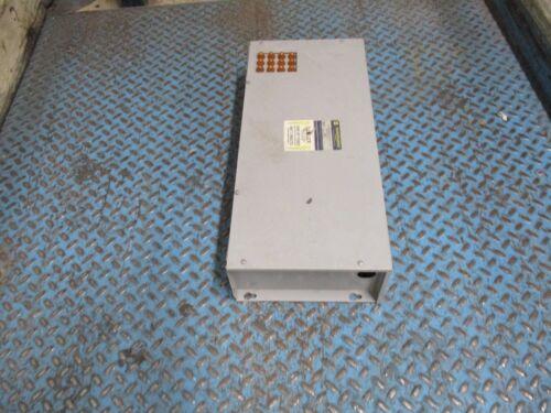 Square D Var-Gard Power Factor Capacitor PFC4050BFI3 50 KVAR 480V 60Hz 3Ph Used