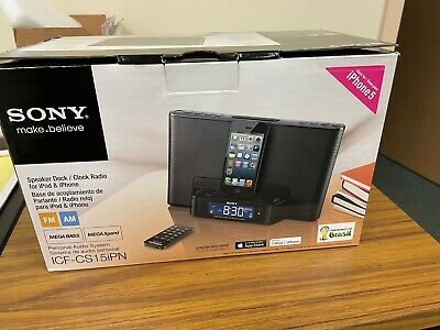 Sony ICF-CS15iPN iPhone/iPod Radio Speaker Dock Lightning Port