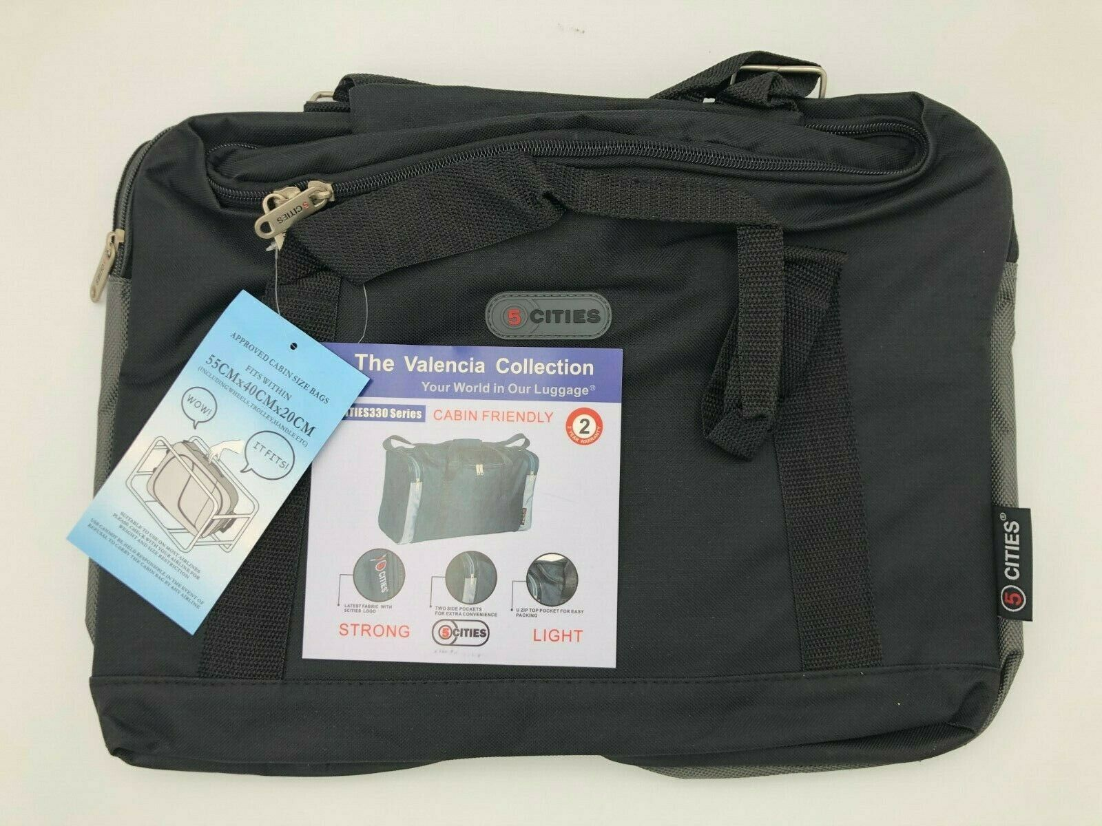 21 carry on lightweight luggage cabin holdalls
