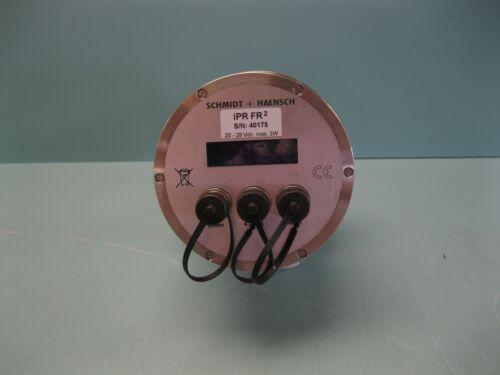 Schmidt + Haensch iPR FR² Inline Process Refractometer Stainless Steel F9 (2938)