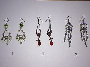 Fashion Jewellery Earrings $5 each or take all for $25( firm)
