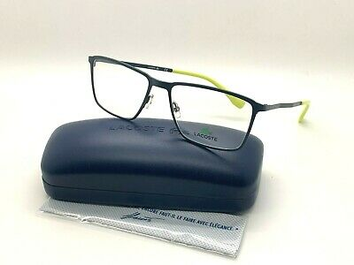 LACOSTE Eyeglasses L2239 424 MATTE BLUE  56-17-140MM BRAND NEW W CASE