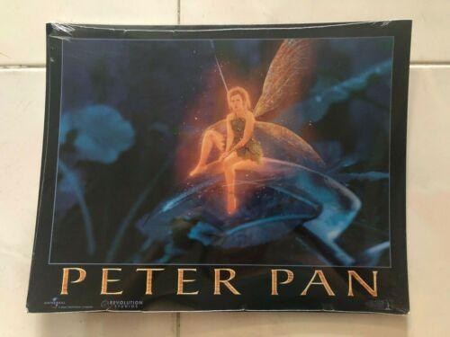 PETER PAN original US Lobby Card 11x14 set 2003 rare set