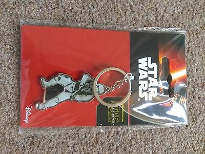 Star Wars Stormtrooper Keyring Keychain Minifigure UK SELLER