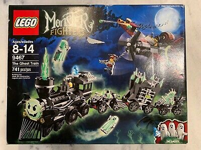 NEW LEGO 9468 Monster Fighters Ghost Train Factory Sealed 2012 Damaged Box