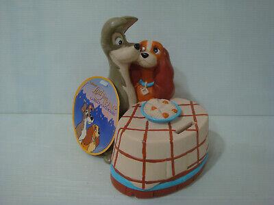 Hucha la Bonita y Le Vagabundo Disney Lady And The Tramp Piggy Bank - Nuevo