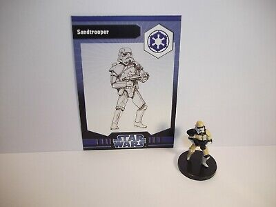 Star Wars Miniatures - Sandtrooper 17/40 + Card - Imperial Entaglements
