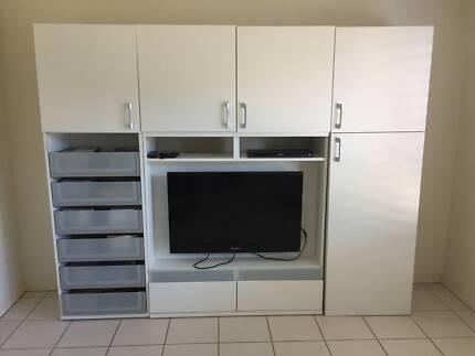 Wall Unit / TV Unit / Display Shelves   Entertainment & TV Units ...