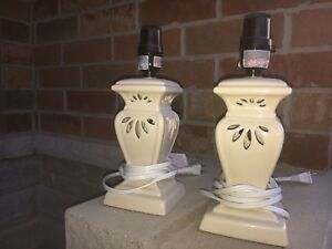 Set of ceramic lamps - 2 for $10